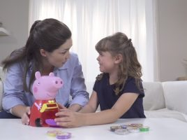 Check out the electronic Peppa Pig toys from Trends!