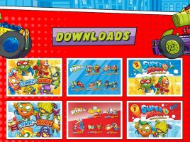 Free downloads and more on the SuperZings website
