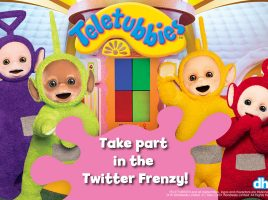 Join the Teletubbies Twitter Frenzy!