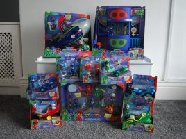 Have you see the new PJ Masks toys?