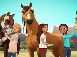 Have a horsey adventure with Spirit, Lucky and friends