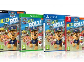WIN 1 of 4 copies of PAW Patrol: on a Roll!