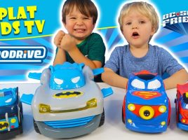 See what Splat Kids TV thought when we sent them vehicles from all new HeroDrive!