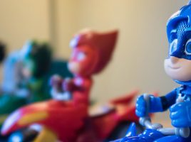 Put some PJ Masks Action in the Toy Box