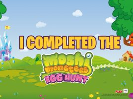 Hold a Moshi Monsters Egg Hunt at Home