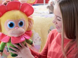 Win 1 of 6 Scented Wonder Chimp Soft Toys!