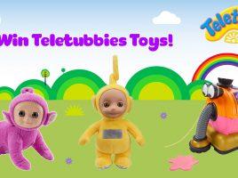 Win Teletubbies toys!