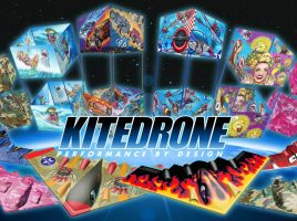 Win a Kitedrone kite!