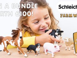 Win Schleich Farm World toys worth £100!