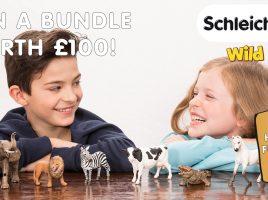 Win Schleich Wild Life toys worth £100!