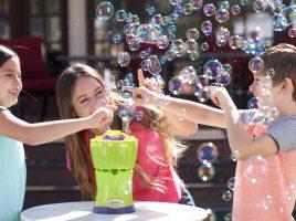 Win 1 of 4 GAZILLION Bubble Rush Bubble Machines!