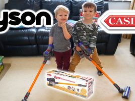 What do kids think of Casdon's Dyson Cord-free?