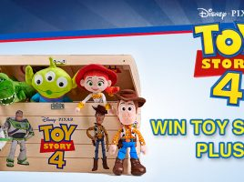 Win 1 of 4 £30 Posh Paws Disney·Pixar Toy Story 4 plush bundles!