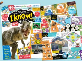 I Know! A New Magazine For Curious Kids Who Love To Learn!