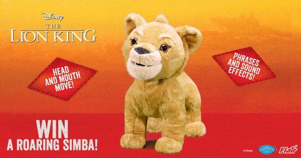 Win A Disneys The Lion King Roaring Simba Plush Uk Mums Tv