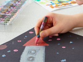 Colour their world with the Little Brian Paint Sticks range!