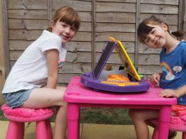 Messy Play and Child Development