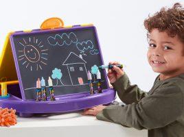 Win a Little Brian Paint Sticks Art Station and Paint Sticks Bucket!