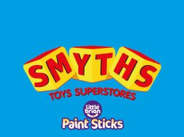 Win a voucher worth £100 to spend at Smyths Toys courtesy of Paint Sticks by Little Brian