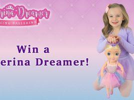Win 1 of 3 Ballerina Dreamer dolls!