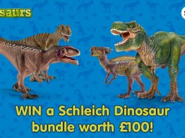 Win a Schleich Dinosaur Bundle worth £100!