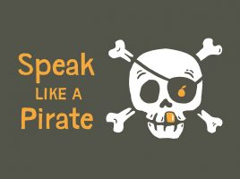 Learn how to talk like a pirate