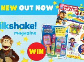 Win a year's subscription to the Milkshake! Magazine!