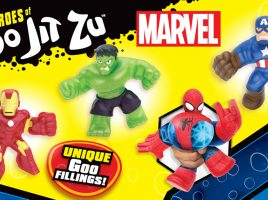 Win 1 of 5 Goo Jit Zu Marvel Duos!