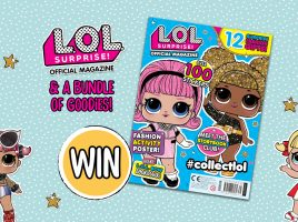Win 1 of 5 L.O.L. Surprise! magazine and toy bundles!