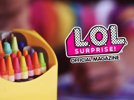 Download free activity sheets from L.O.L. Surprise! magazine