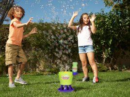 Win 1 of 4 Gazillion Tornado Bubble Machines!