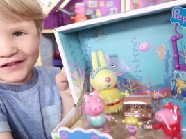 Check out these Peppa Pig YouTube Vids created by kids at home!