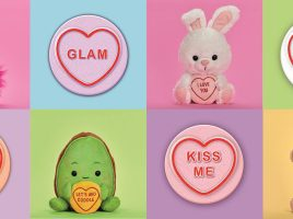 Win a bundle of Love Hearts plush toys from Posh Paws!
