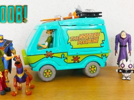 Take a look at what Splat Kids TV thought to the Scoob! toy line!