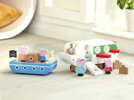 A beautiful new Wooden World for Peppa Pig