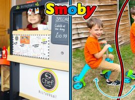 Splat Kids TV have fun with Smoby!