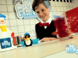 Win 1 of 3 Mr. Frosty Ice Crunchy Makers and a Drinks Bundle!