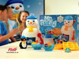 Spice up the ice with Mr. Frosty the Ice Crunchy Maker!