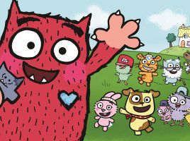 Meet Love Monster and his Fluffytown friends!
