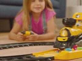 Win a Cat® Junior Crew™ Power Tracks Friends Train Set