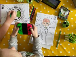Get down with the kids! See what they thought of Ben 10: Power Trip