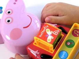 Win Peppa Pig electronic learning toys!