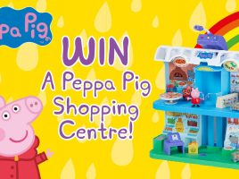 Win Peppa's Shopping Centre playset!