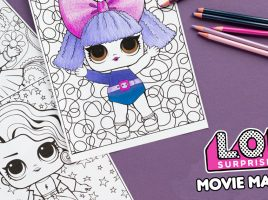 O.M.G. FREE L.O.L Surprise! activity sheets to download!