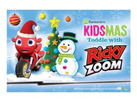 Step into the Kidsmas Toddle with Ricky Zoom!
