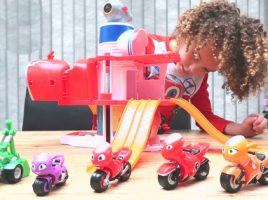 One of the UK's top family vloggers revved up their play with Ricky Zoom