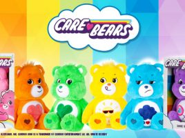 Introducing the latest Care Bears toys!