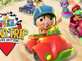Win 1 of 4 copies of Race With Ryan Road Trip: Deluxe Edition