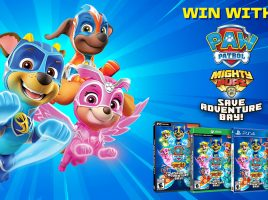 Win 1 of 4 copies of PAW Patrol Mighty Pups: Save Adventure Bay