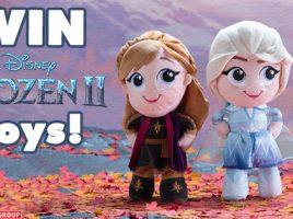 Win a bundle of Frozen 2 Plush goodies!